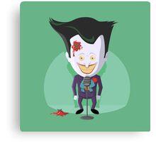 Stand-Up Joker Canvas Print