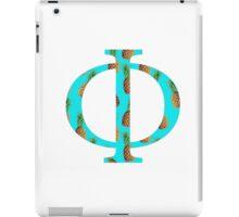 Phi Pineapple Letter iPad Case/Skin