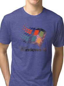 Windows 95 - Galaxy Tri-blend T-Shirt