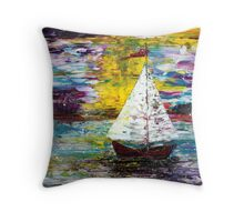 Secret Escape Throw Pillow