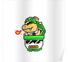 Cool Bowser Jr. Poster