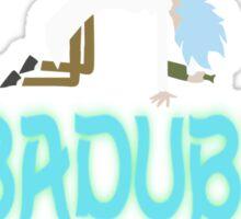 WUBADUBDUB Sticker