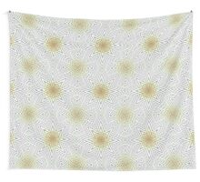 Brown and white abstract pattern background Wall Tapestry
