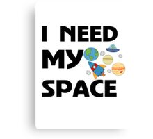 Space for kids Canvas Print