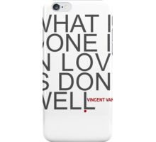 Done Well iPhone Case/Skin