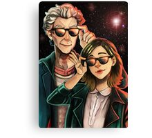 Doctor Who - Space Agents Canvas Print