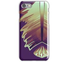 purple sunrise feather and gem iPhone Case/Skin