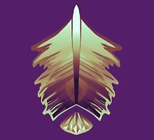 purple sunrise feather and gem Classic T-Shirt