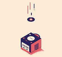 ElectroVideo Gamecube (Red) by Robin Wells