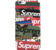 What the Preme - Supreme iPhone Case/Skin