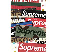What the Preme - Supreme Photographic Print