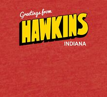 Greetings from Hawkins Tri-blend T-Shirt