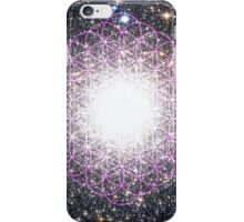 Tree of Life [Purple] | Tight Star Cluster | Sacred Geometry iPhone Case/Skin