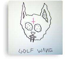 Golf Wang Kill Cat Canvas Print
