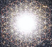 Tree of Life [Orange]   Tight Star Cluster   Sacred Geometry by SirDouglasFresh