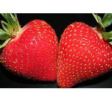 Strawberry Duo Photographic Print