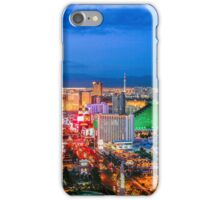 Vegas Strip at Dusk iPhone Case/Skin