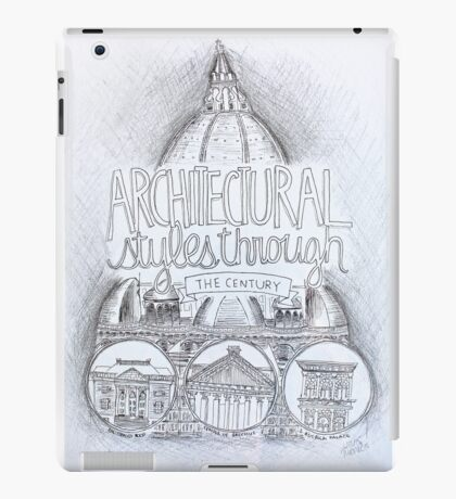 Architecture Through the Century iPad Case/Skin