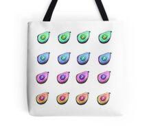 Rainbow Avocados Tote Bag