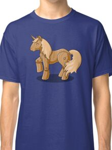 Unocchio the Wooden Unicorn Classic T-Shirt
