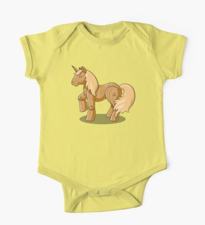 Unocchio the Wooden Unicorn One Piece - Short Sleeve