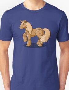 Unocchio the Wooden Unicorn Unisex T-Shirt
