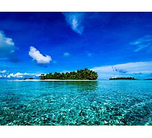 Islands of the Southern Lagoon Photographic Print
