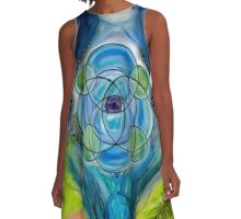 Maia, Queen of Cups A-Line Dress