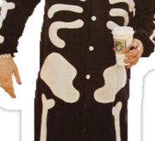 Gerard Way Skeleton Pajamas Sticker
