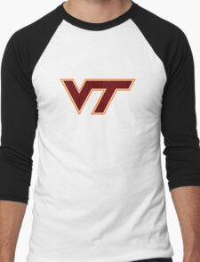 Virginia Tech Men's Baseball ¾ T-Shirt