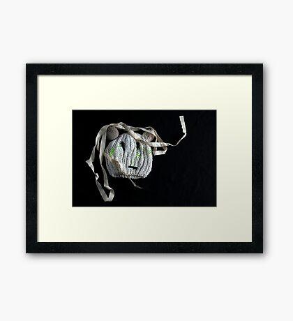 Weird Face  Framed Print