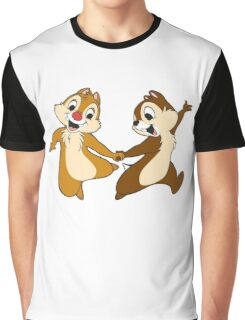 chip and dale Graphic T-Shirt