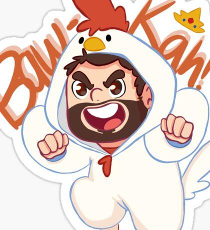 Chicken Wade! Sticker