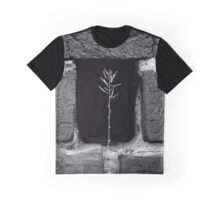 A Single Plant Growing Out Of The Old Red Brick Wall | Upper Brookville, New York  Graphic T-Shirt