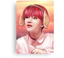 Taehyung Commission Canvas Print