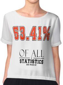 Statistics Math (Joke) Chiffon Top