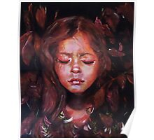 Hiding Within - original acrylic painting Poster