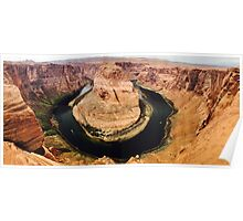 Grand Canyon River Bend Poster