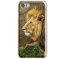 King of beasts iPhone Case/Skin