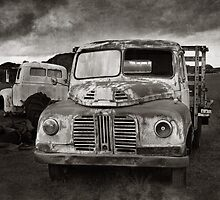 The Old Austin by Malcolm Heberle