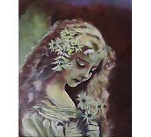 Vintage - Original Acrylic Painting Photographic Print