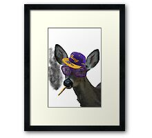 Swag Moose v.3 Framed Print