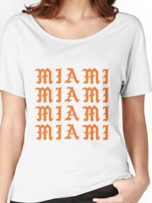 LIFE OF MIAMI  Women's Relaxed Fit T-Shirt
