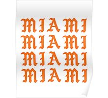 LIFE OF MIAMI  Poster