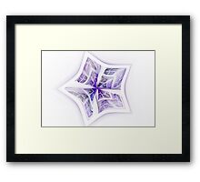 Folding Space Framed Print