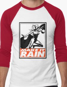 Storm Make It Rain Obey Design T-Shirt