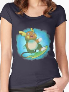 Alolan Raichu Women's Fitted Scoop T-Shirt