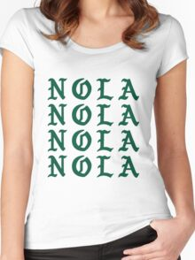 LIFE OF NOLA Women's Fitted Scoop T-Shirt