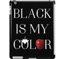Once Upon A Time - Black Is My Color iPad Case/Skin