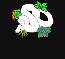 Leusistic Ball Python With Succulents Unisex T-Shirt
